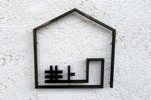 TL 樹脂切文字看板・表札 の 納入事例